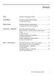 Nytt norsk kirkeblad nr 2-2008 - Det praktisk-teologiske seminar