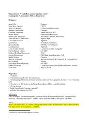 Referat af opstartsmøde grønne tage 19092011 - Vand i Byer