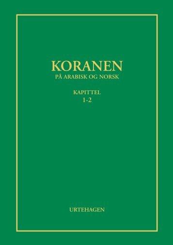 Koranen på norsk (pdf) - Koranen.no