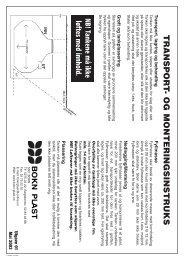 Last ned anvisning i pdf her - Bokn Plast AS
