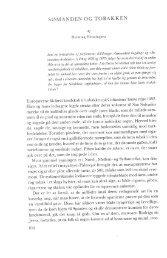 Henning Henningsen: Sømanden og tobakken, s. 108-155