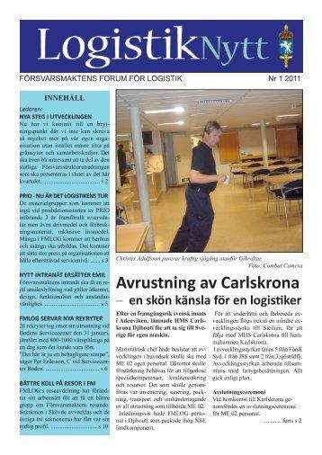 Avrustning av Carlskrona - Försvarsmakten
