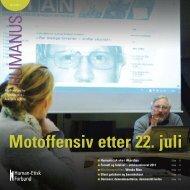 Motoffensiv etter 22. juli - Human-Etisk Forbund
