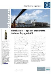 også et produkt fra Harboes Bryggeri - Siemens