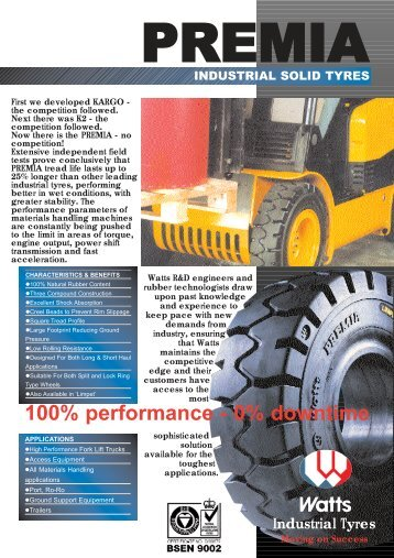 Premia - Industrial Tyre Specialists
