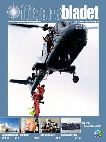 én organisasjon Øvelse EODEX 2009 - Offisersbladet