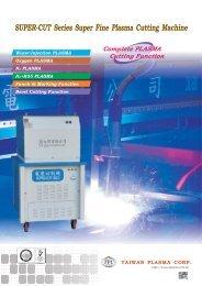 SUPER-CUT Series Super Fine Plasma Cutting Machine