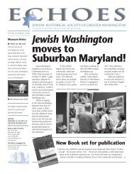 JHSGW SummerNews 7-06 - Jewish Historical Society of Greater ...