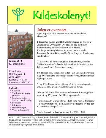 2012 - nummer 1 - Kildeskolen