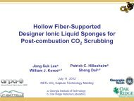Hollow Fiber-Supported Designer Ionic Liquid Sponges for Post ...