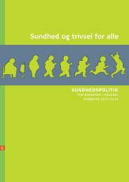 Sundhed og trivsel for alle i Kolding Kommune 1