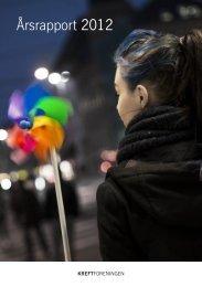 Årsrapport 2012 - Kreftforeningen