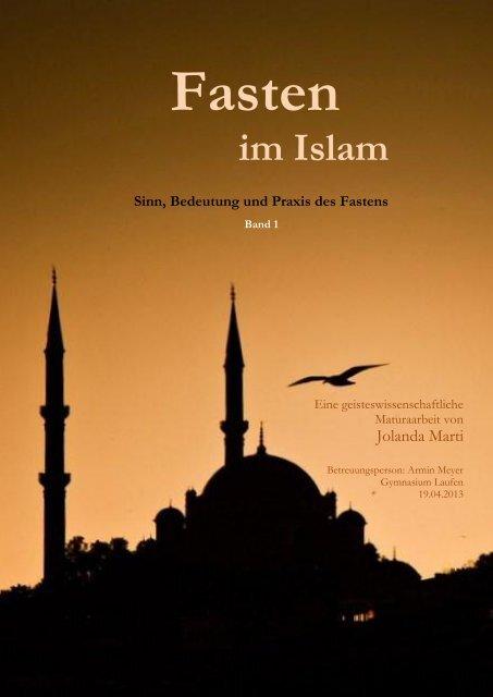 Islam wird das Fasten - GSIW