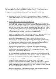 Referat fra møde med alle lokalråd i Vejle Kommune 26.10 ... - Farre