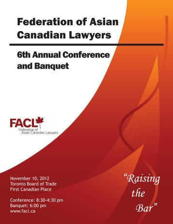 2012 FACL Conference Program Book - National Asian Pacific ...