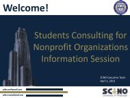 Download in PDF format - Pitt Consulting Club - SCNO