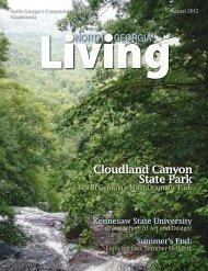 August 2012 - North Georgia Living Magazine