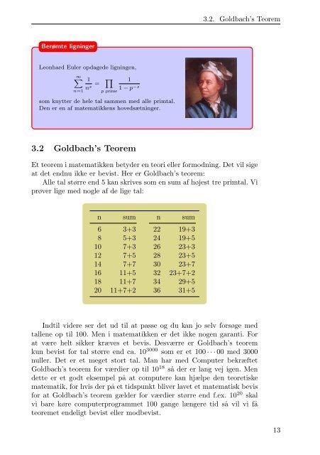 Matematik for de nysgerrige eller nørdede
