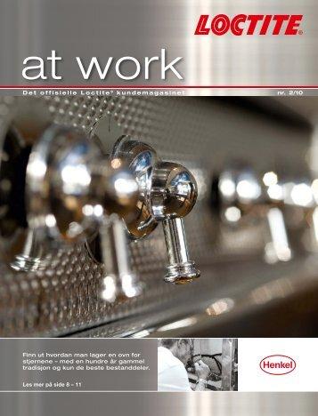 Det offisielle Loctite® kundemagasinet 4