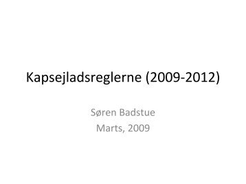 2009 - Kapsejl
