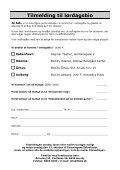 Download invitation og tilmeldingsblanket som PDF her - Page 3