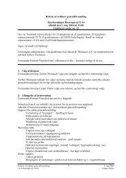Generalforsamling 3. maj - Ejerforeningen Hostrupsvej 12-14