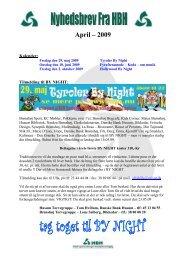 Du kan læse Nyhedsbrev fra Maj ved at klikke her - HBH Handels ...