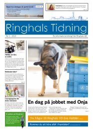 Ringhals Tidning nr 1 2013 - Vattenfall