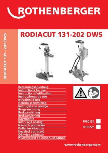 BA RODIACUT 131-202 DWS Umschlag PaketC-0908