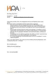 Wijziging van Regeling uitvoer sector granen Achter deze ... - HPA