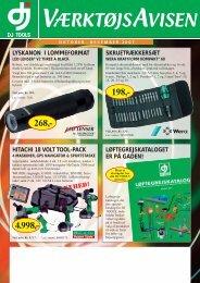 hitachi 18 volt tool-pack - Special-Butikken Ribe A/S