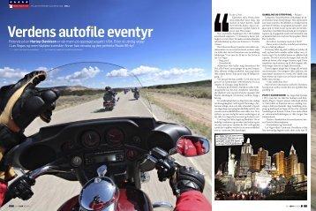 Ridende på en Harley-Davidson er vår mann på ... - Route66usa.info