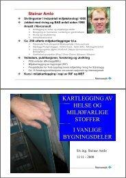Asbest - Norges Bygg- og Eiendomsforening