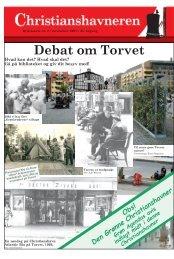 Debat om Torvet - Christianshavneren