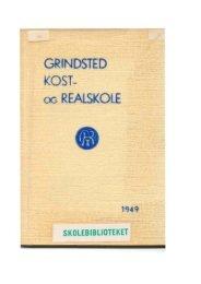 G INDSTED - Grindsted Kost –og Realskoles Elevforening