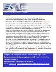 EK nyt november 2005.pdf - Foreningen af Erhvervskvinder