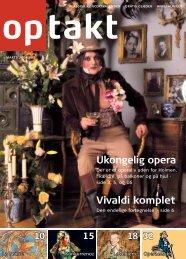 Operaen - Optakt