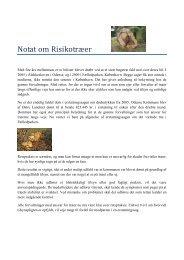 Notat om Risikotræer - Guldborgsund Kommune