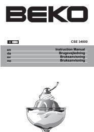 Instruction Manual Brugsvejledning Bruksanvisning ... - Elon