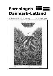 Blad nr. 4 - 2005 - Foreningen Danmark - Letland