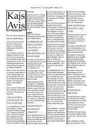 De nye kommuners første udmelding LOKALAVISEN ... - KAJ´s AVIS