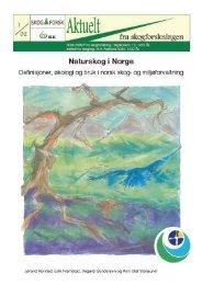 Naturskog i Norge - Skog og landskap