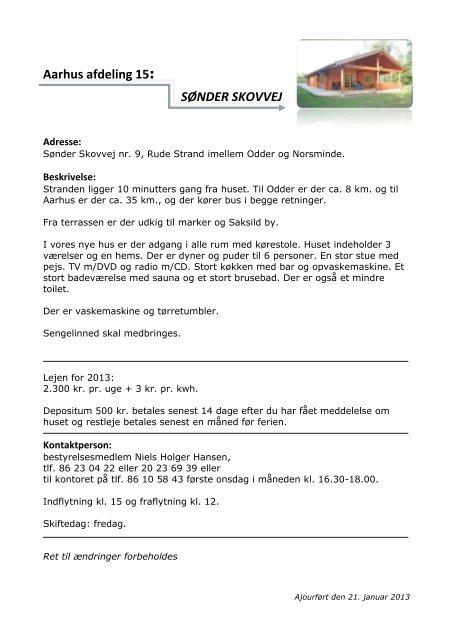 Aarhus afdeling 15: SØNDER SKOVVEJ - LungePatient.dk