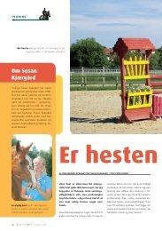 Om Susan Kjærgård - Hestemagasinet.dk