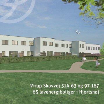 Virup Skovvej 51A-63 og 97-187 65 lavenergiboliger i Hjortshøj