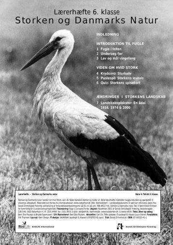 Storken og Danmarks Natur - Dansk Ornitologisk Forening