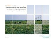 Store vindmøller i det åbne land - en vurdering af de landskabelige ...