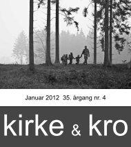 Januar 2012 35. årgang nr. 4 - Nødebo Kro