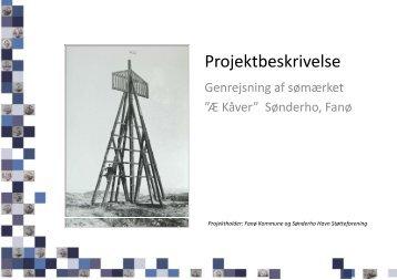 Projektbeskrivelse - Sønderho Havn