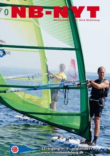 NB NYT August 2011 - Nivå Bådelaug - Sejl eller Surf i Nivå ...